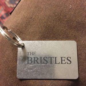 The Bristles nyckelbricka