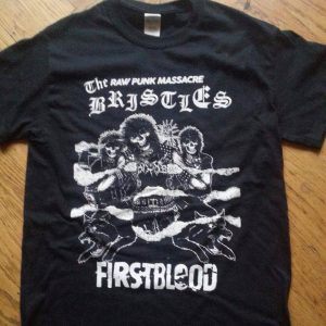 "The Bristles T-shirt ""Firstblood"""